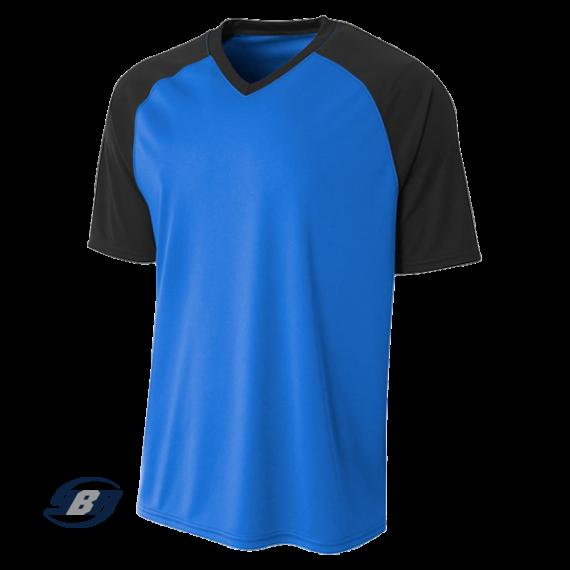 Striker Dri-Fit Jersey royal blue with black