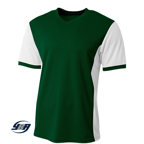 premier soccer jersey Forest Green