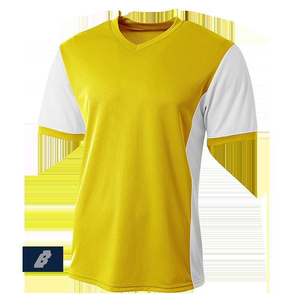 premier soccer jersey yellow