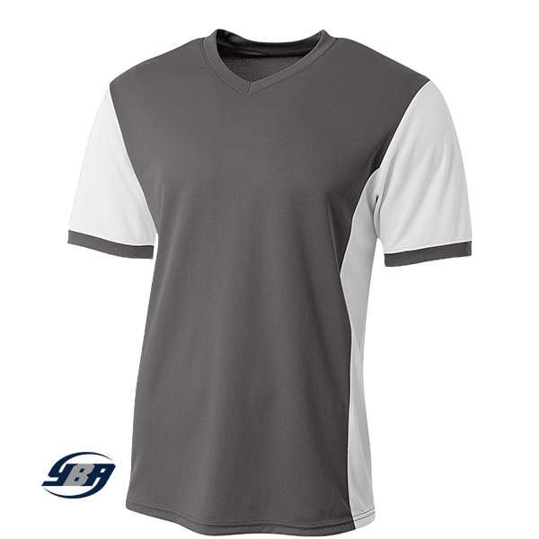 premier soccer jersey graphite