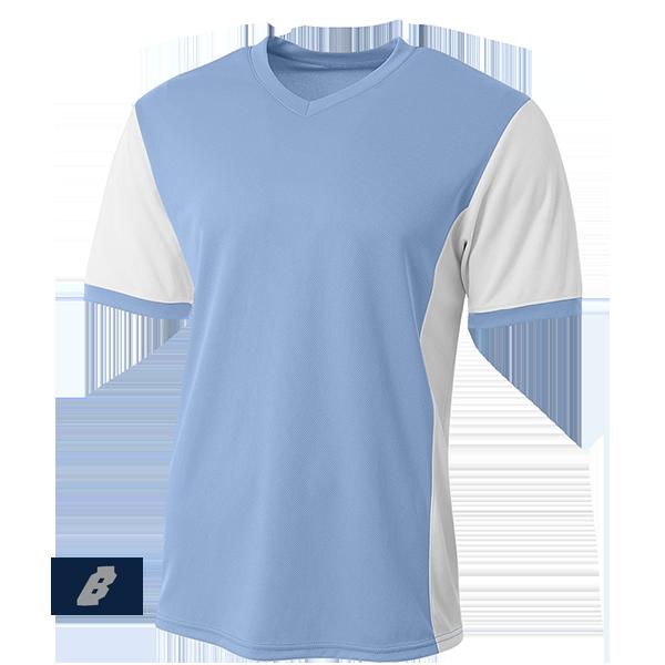 premier soccer jersey columbia blue