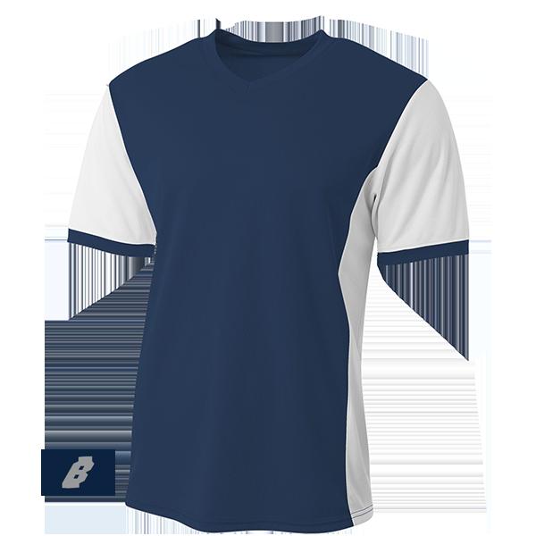 premier soccer jersey navy