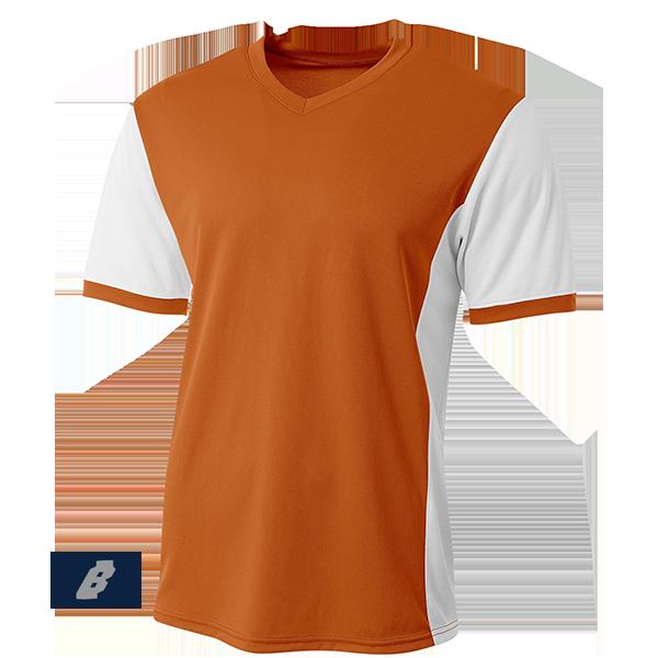 premier soccer jersey orange