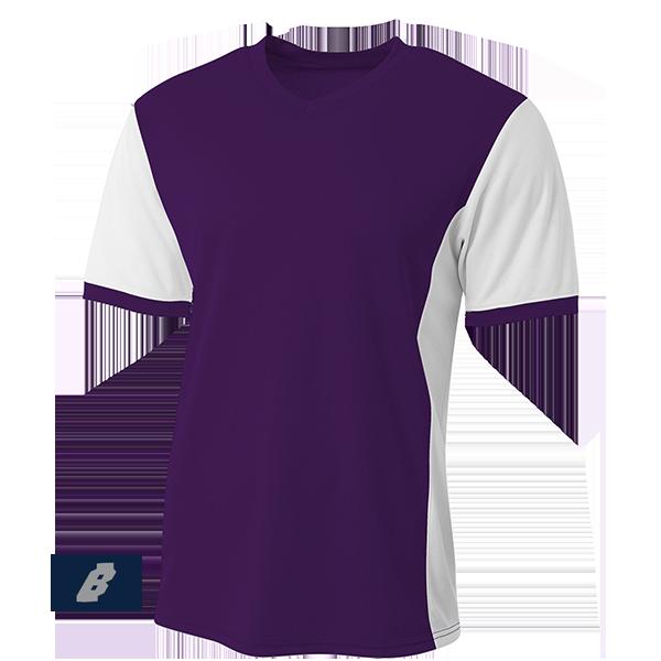 premier soccer jersey purple