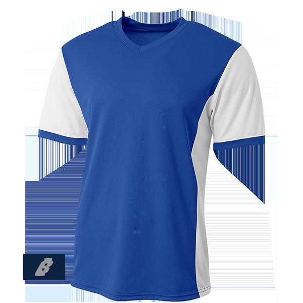 premier soccer jersey royal blue