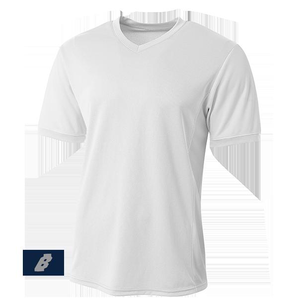 premier soccer jersey white