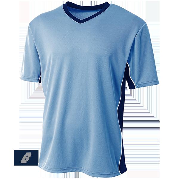 Liga Soccer Jersey light blue with navy