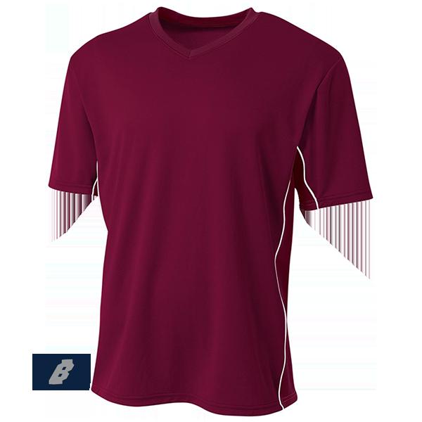 Liga Soccer Jersey maroon