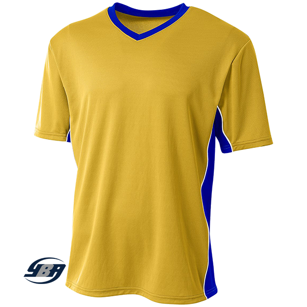 Liga Soccer Jersey yellow with royal blue