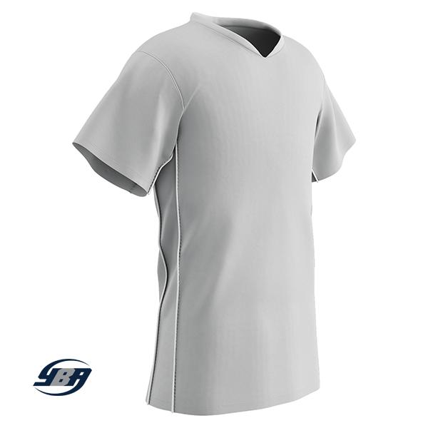 header soccer jersey white