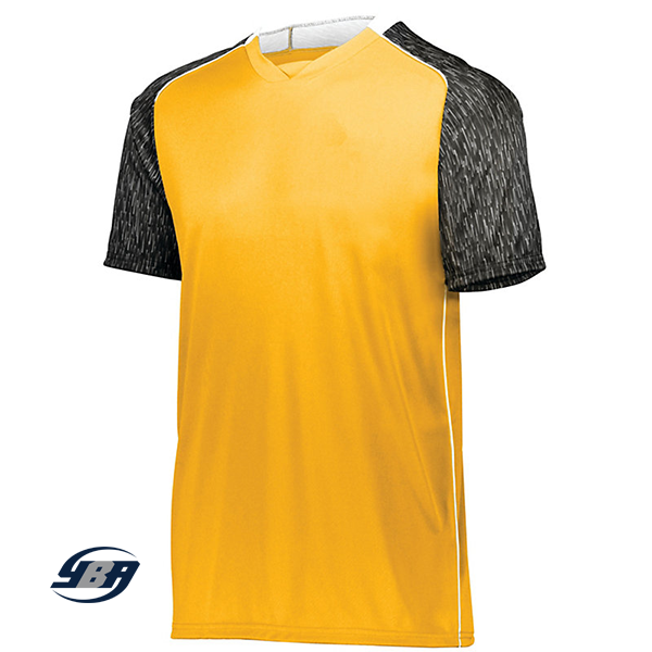 Hawthorne Soccer Jersey Gold with Black