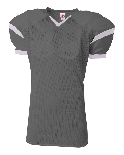 roll out game football jersey graphite