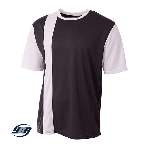 Legend Soccer Jersey black with white