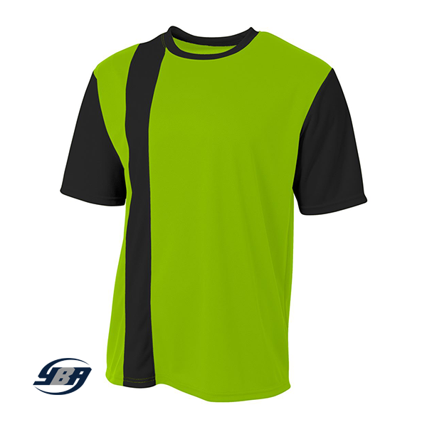 Legend Soccer Jersey lime with black