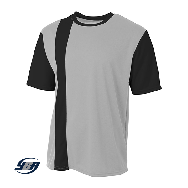 Legend Soccer Jersey silver with black