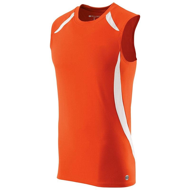 sprint singlet orange