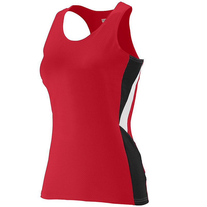 red ladies sprint jersey