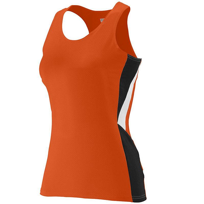 orange ladies sprint jersey