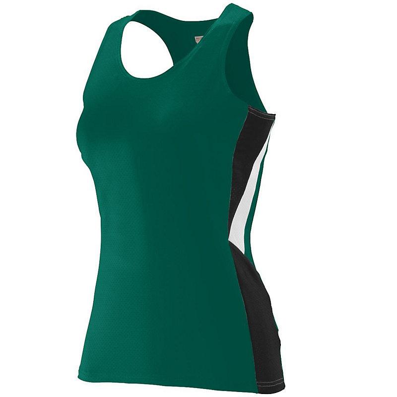 dark green ladies sprint jersey