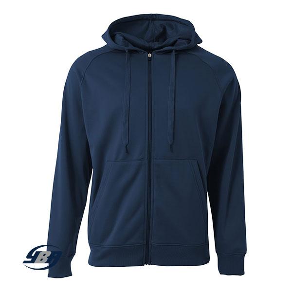 Agility Tech Fleece Hoodie Navy