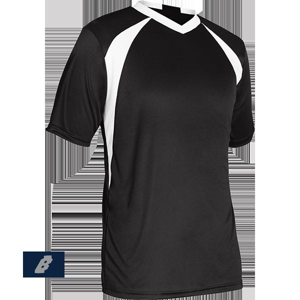 sweeper soccer jersey black
