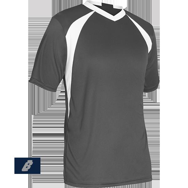 sweeper soccer jersey grey