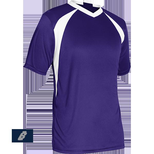 sweeper soccer jersey purple