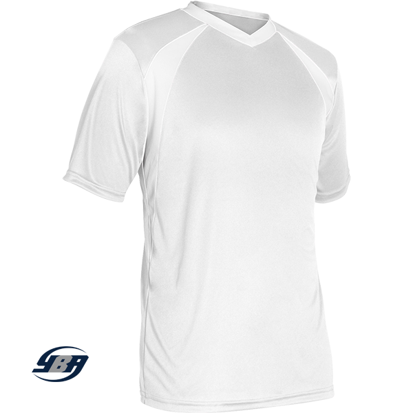 sweeper soccer jersey white
