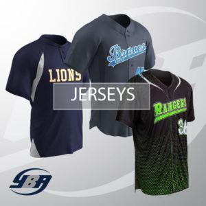 Custom Printed Baseball Jerseys