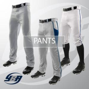 Stock baseball pants